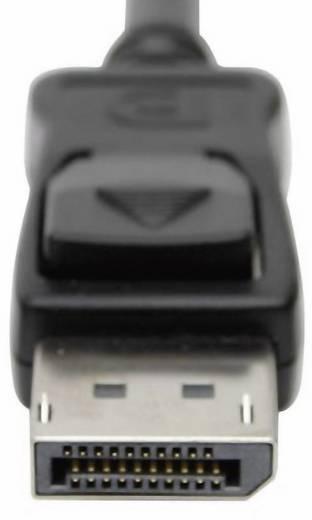 DisplayPort / DVI Adapter [1x DisplayPort Stecker - 1x DVI-Buchse 24+1pol.] Schwarz club3D