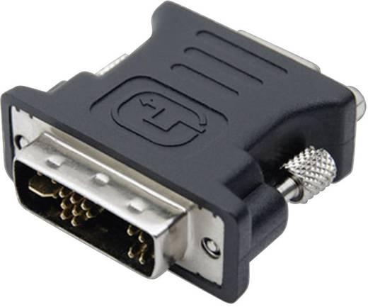 DVI / VGA Adapter [1x DVI-Stecker 12+5pol. - 1x VGA-Buchse] Schwarz club3D
