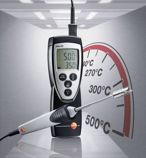 Temperatur-Messgerät testo 925 Aktionsset -50 bis +300 °C Fühler-Typ K Kalibriert nach: Werksstandard (ohne Zertifikat)