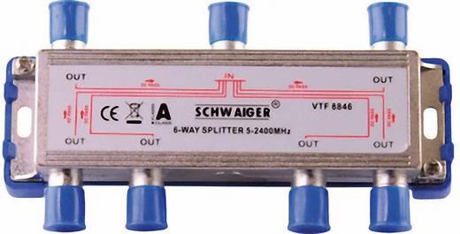 SAT-Verteiler Schwaiger VTF8846 6-fach 5 - 2400 MHz