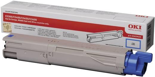 OKI Toner C3300 C3400 C3450 C3600 43459435 Original Cyan 1500 Seiten