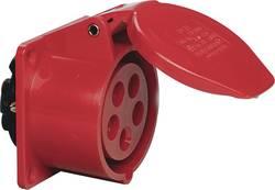 CEE zásuvka Sirox 603.156, IP44, 16 A, červená