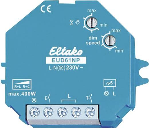 Aufputz Dimmer, Unterputz Dimmer Geeignet für Leuchtmittel: Energiesparlampe, Glühlampe, Halogenlampe, Leuchtstofflampe Blau Eltako 851932
