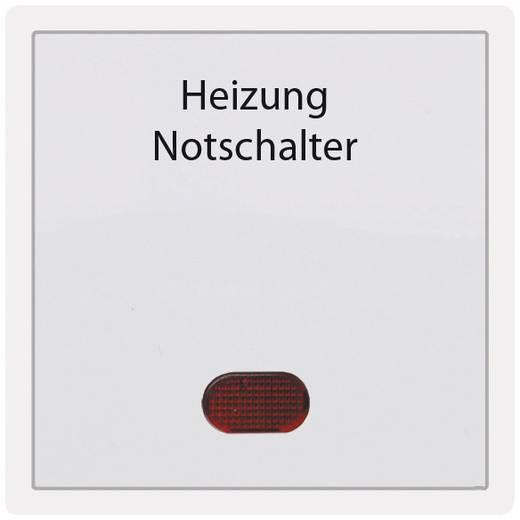 PERA Abdeckung Heizungs-Notschalter Pera Weiß 2110-031-0001
