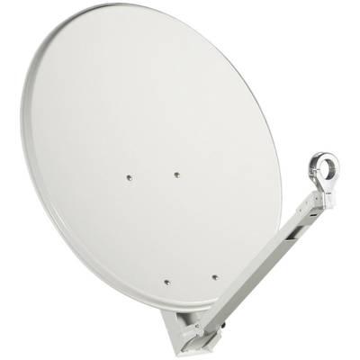 SAT Antenne 65 cm Gibertini OP 65 XP ALU Reflektormaterial: Aluminium Grau Preisvergleich