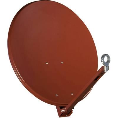 SAT Antenne 75 cm Gibertini OP 75 XP ALU Reflektormaterial: Aluminium Rot Preisvergleich
