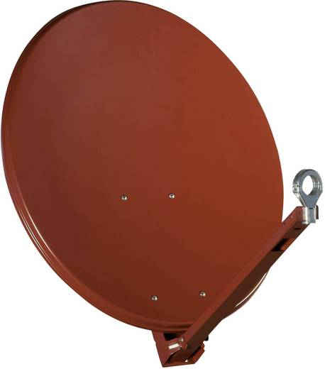 SAT Antenne 75 cm Gibertini OP 75 XP ALU Reflektormaterial: Aluminium Rot