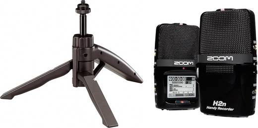 Mobiler Audio-Recorder Zoom H2n Bundle Schwarz