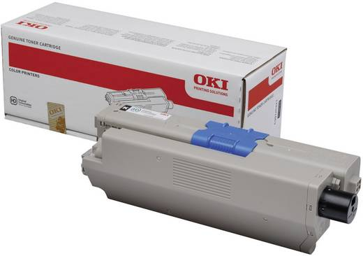 OKI Toner C301 C321 44973536 Original Schwarz 2200 Seiten