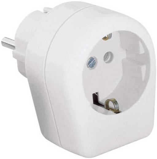 Zwischenstecker Kunststoff 230 V Weiß IP20 Kopp 174001007