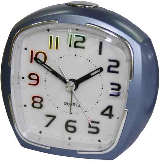 Quarz Wecker EuroTime 21010-08 Blau Alarmzeiten 1