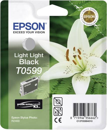 Epson Tinte T0599 Original Light Light Schwarz C13T05994010