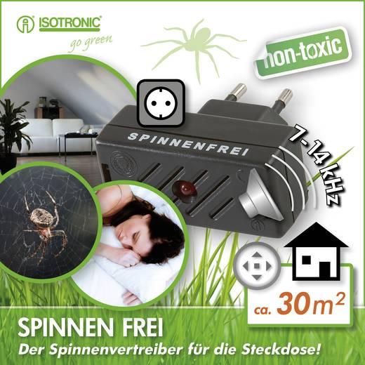 Spinnenvertreiber Isotronic Anti-Spider (L x B x H) 63 x 30 x 65 mm Schwarz 1 St.