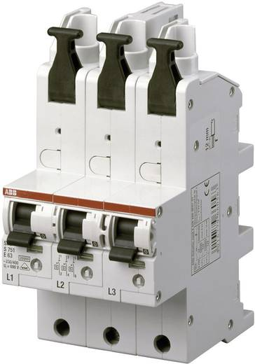 Leitungsschutzschalter 3polig 50 A ABB 2CDS781001R4502