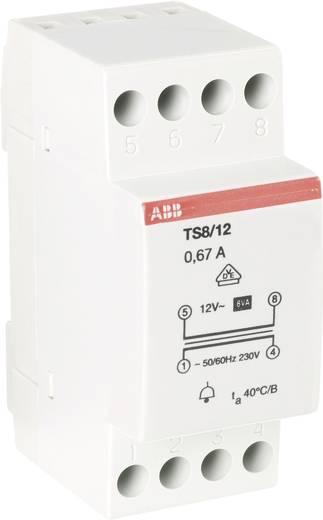 Klingel-Transformator 12 V/AC 0.67 A ABB 2CSM081401R0811