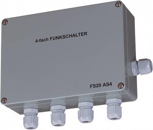 fs20 funk schalter as4 4 kanal aufputz schaltleistung max. Black Bedroom Furniture Sets. Home Design Ideas
