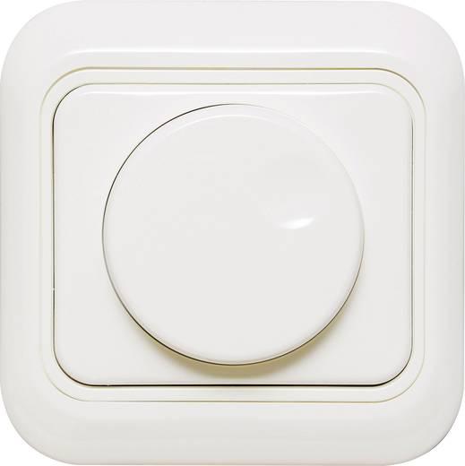 Unterputz Dimmer Geeignet für Leuchtmittel: Glühlampe, Halogenlampe Reinweiß Ehmann 3362c0020