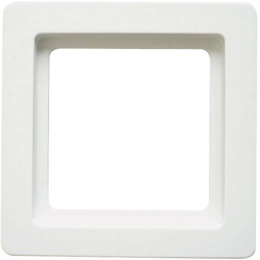 Berker 1fach Rahmen Q.1 Polarweiß 1011 60 89