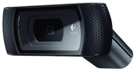 HD-Webcam 1280 x 720 Pixel Logitech B910 HD-webcam Standfuß, Klemm-Halterung