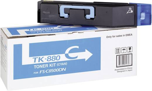 Kyocera Toner TK-880C 1T02KACNL0 Original Cyan 25000 Seiten