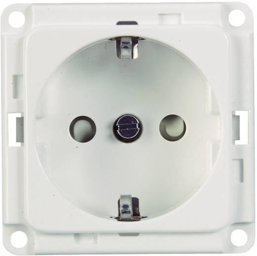 Elektro-Sockelleistensystem Geräteeinsatz Steckdose 71680 Weiß