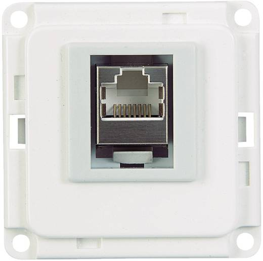 Elektro-Sockelleistensystem Geräteeinsatz ISDN 71682 Weiß