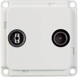 Image of Elektro-Sockelleistensystem Geräteeinsatz Antenne/SAT 71683 Weiß