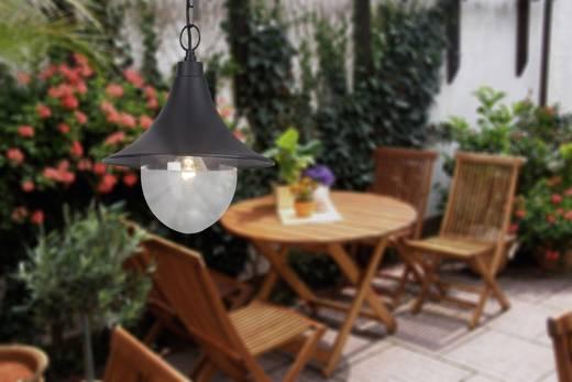 Außen-Pendelleuchte Glühlampe E27 60 W Brilliant Berna 41070/06 Schwarz