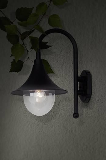 Außenwandleuchte Energiesparlampe, LED E27 60 W Brilliant Berna 41081/06 Schwarz