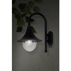 Image of Brilliant Berna 41081/06 Außenwandleuchte Energiesparlampe, LED E27 60 W Schwarz