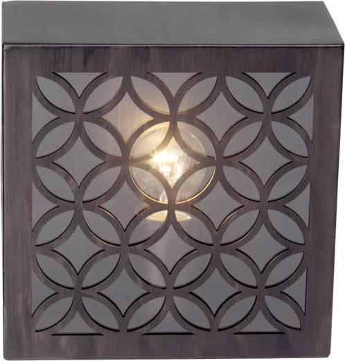 Außenwandleuchte Energiesparlampe, LED E27 60 W Brilliant Lida 45880/55 Rost-Braun