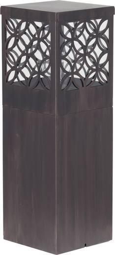 Außenstandleuchte Glühlampe E27 60 W Brilliant Lida 45884/55 Rost-Braun