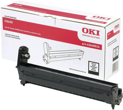 OKI Trommeleinheit Drum Unit C8600 C8800 43449016 Original Schwarz 20000 Seiten