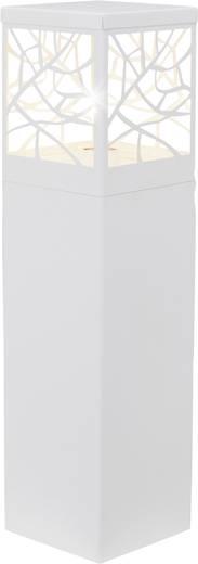 Außenstandleuchte Glühlampe E27 60 W Brilliant Whitney 46394/05 Weiß