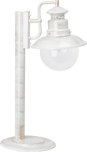 Außenstandleuchte Glühlampe E27 60 W Brilliant Artu 46984/30 Weiß, Gold