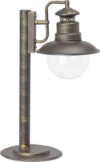 Außenstandleuchte Glühlampe E27 60 W Brilliant Artu 46984/86 Schwarz, Gold