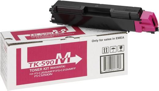 Kyocera Toner TK-590M 1T02KVBNL0 Original Magenta 5000 Seiten