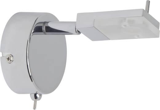 LED-Wandleuchte 3 W Warm-Weiß Brilliant Hajo G16411/15 Chrom, Weiß