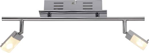 LED-Deckenstrahler 6 W Warm-Weiß Brilliant Hajo G16413/15 Chrom, Weiß