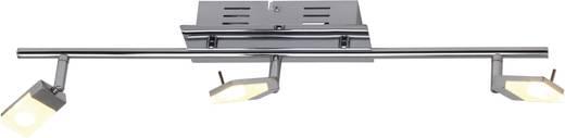 LED-Deckenstrahler 9 W Warm-Weiß Brilliant Hajo G16416/15 Chrom, Weiß