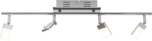 LED-Deckenstrahler 12 W Warm-Weiß Brilliant Hajo G16431/15 Chrom, Weiß