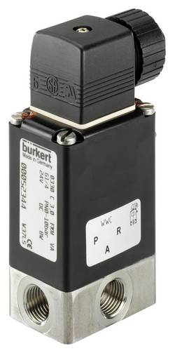 Vanne à commande directe 3/2 voies Bürkert 124935 230 V/AC manchon G 1/4 1 pc(s)