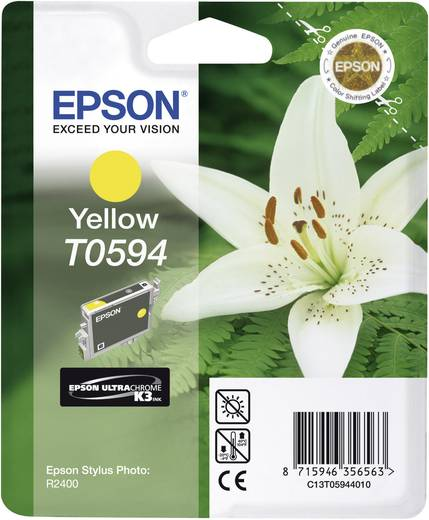 Epson Tinte T0594 Original Gelb C13T05944010