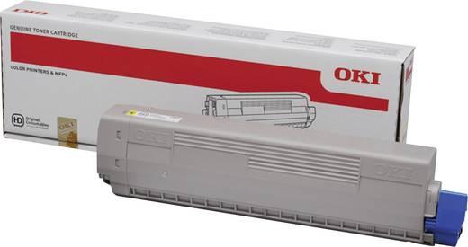 OKI Toner C822 44844613 Original Gelb 7300 Seiten
