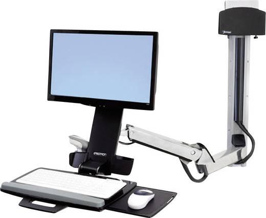 Verlängerungsarm Passend für Serie: Ergotron StyleView Sit-Stand Combo Arm Ergotron Silber