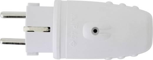 Schutzkontaktstecker Gummi 230 V Hellgrau IP20 GAO 624400