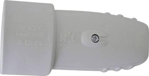 Schutzkontaktkupplung Gummi 230 V Hellgrau IP20 624401