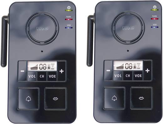 Gegensprechanlage Funk 446 MHz 2000 m Schwarz m-e modern-electronics FS 2.1