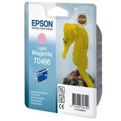 Náplň do tlačiarne Epson T0486 C13T04864010, svetlá purpurová