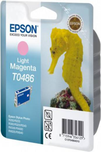 Epson Tinte T0486 Original Light Magenta C13T04864010